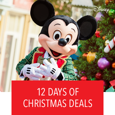 12 Days of Christmas at shopDisney