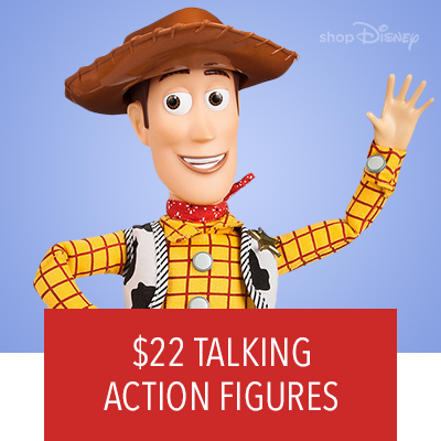 $22Toy Story Talking Action Figures