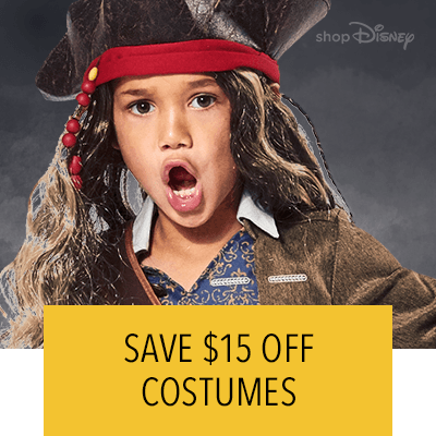 Halloween $15 Off Costumes