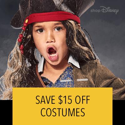 Halloween $15 Off Costumes