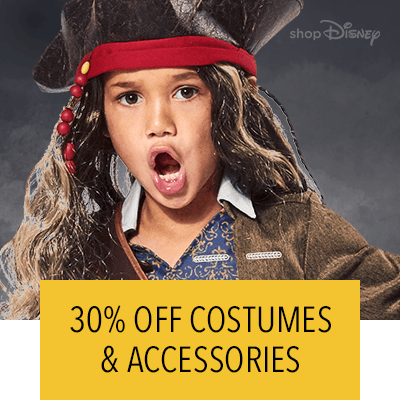 30% Off Costumes & Accessories