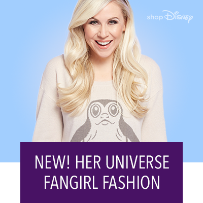 New! Her Universe  Fangirl Fashion