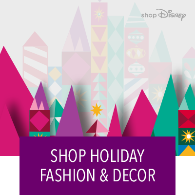 Hero Stream - shopDisney - Holiday shop 2018