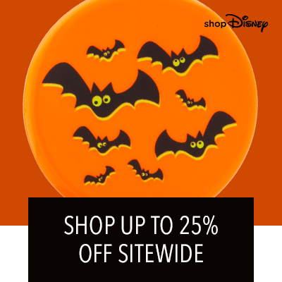 shopDisney | Tiered Offer: Up to 25% Off Sitewide