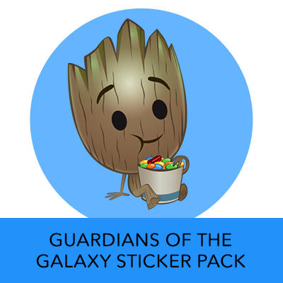 Disney Stickers: Guardians Of The Galaxy