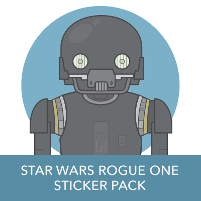 Disney Stickers: Rogue One