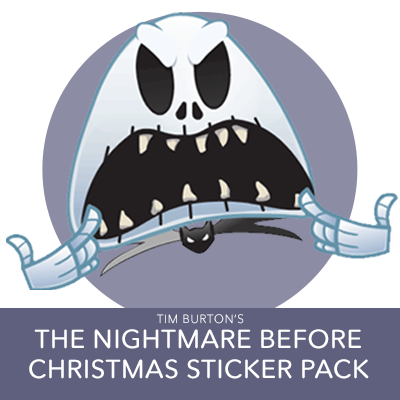 Disney Stickers: Tim Burton's The Nightmare Before Christmas