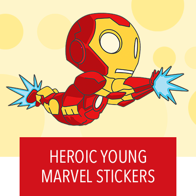 Disney Stickers: Young Marvel