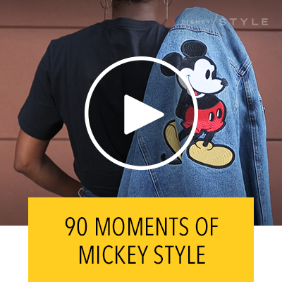 90 Moments of Mickey Style | Fashion by Disney Style