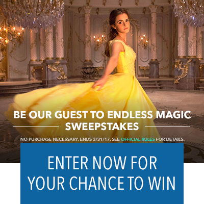 Be Our Guest to Endless Magic Sweepstakes