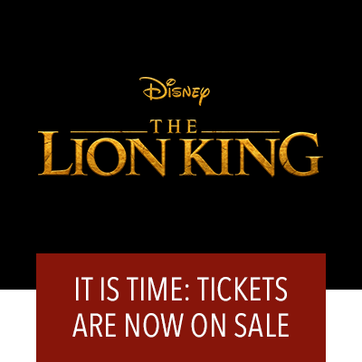 The Lion King Tickets On Sale Now