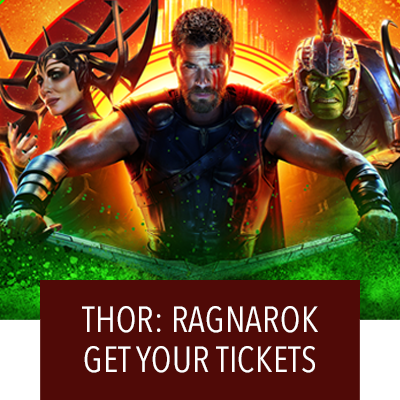 Get Your Tickets For Thor: Ragnarok