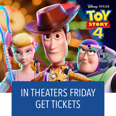 Toy Story 4 In Theaters Friday. Get Tickets