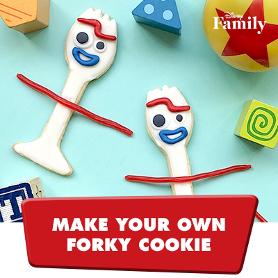 Make your own Forky Cookie