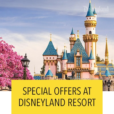 Special offers at Disneyland Resort