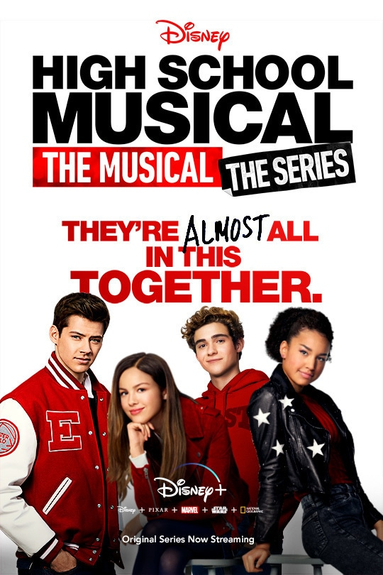 High School Musical - The Musical - The Series - poster image - Disney+