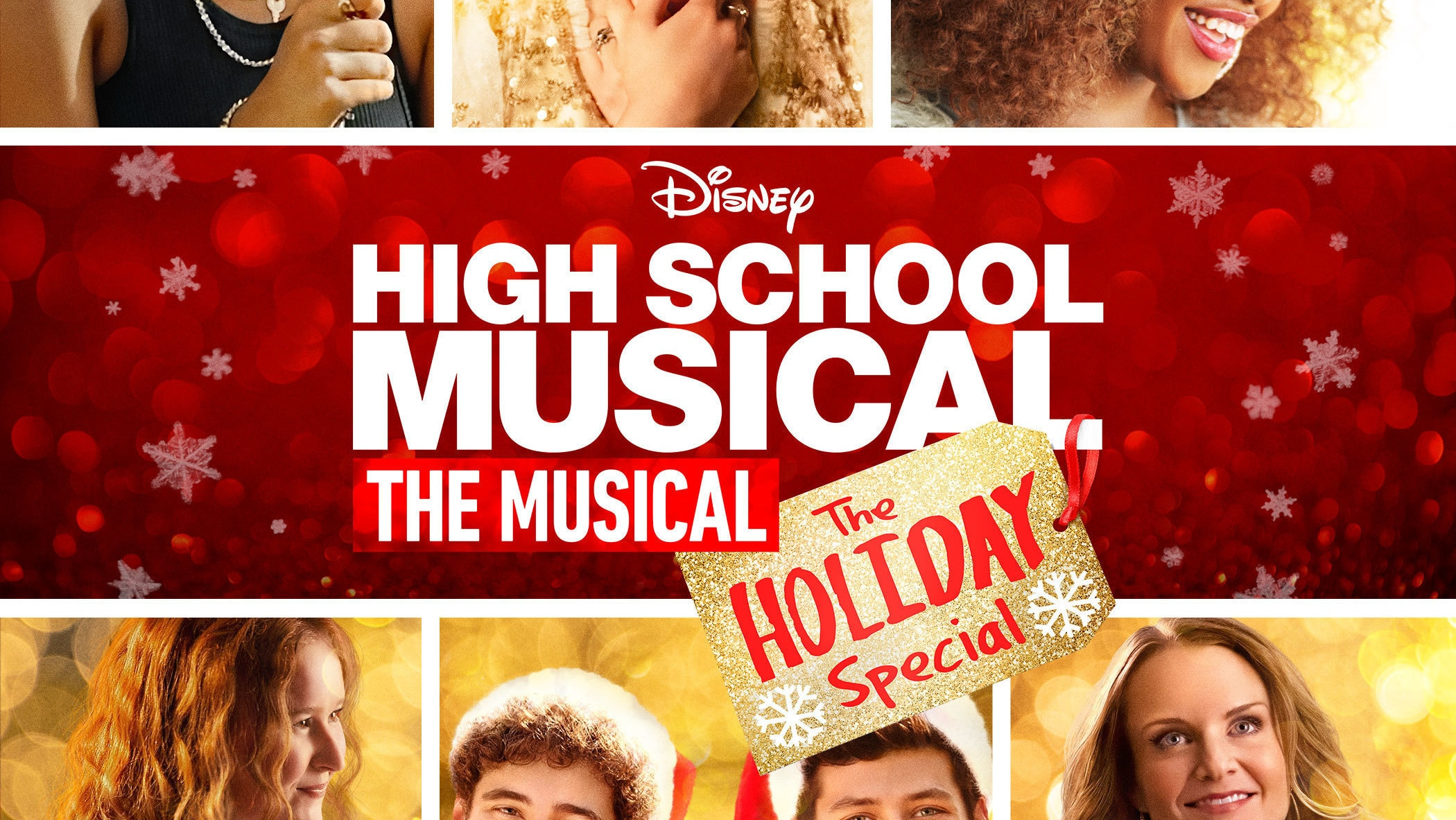 High School Musical: The Musical: The Holiday Special Key Art (Vertical)