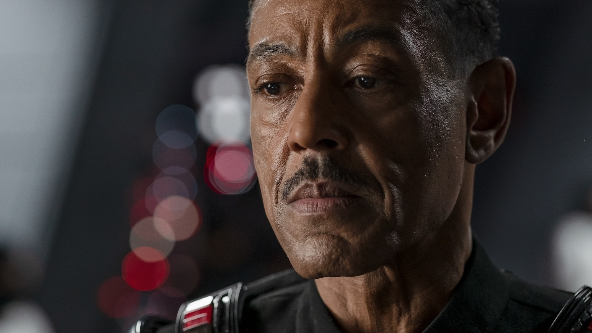 Giancarlo Esposito is Moff Gideon in THE MANDALORIAN, season two, exclusively on Disney+