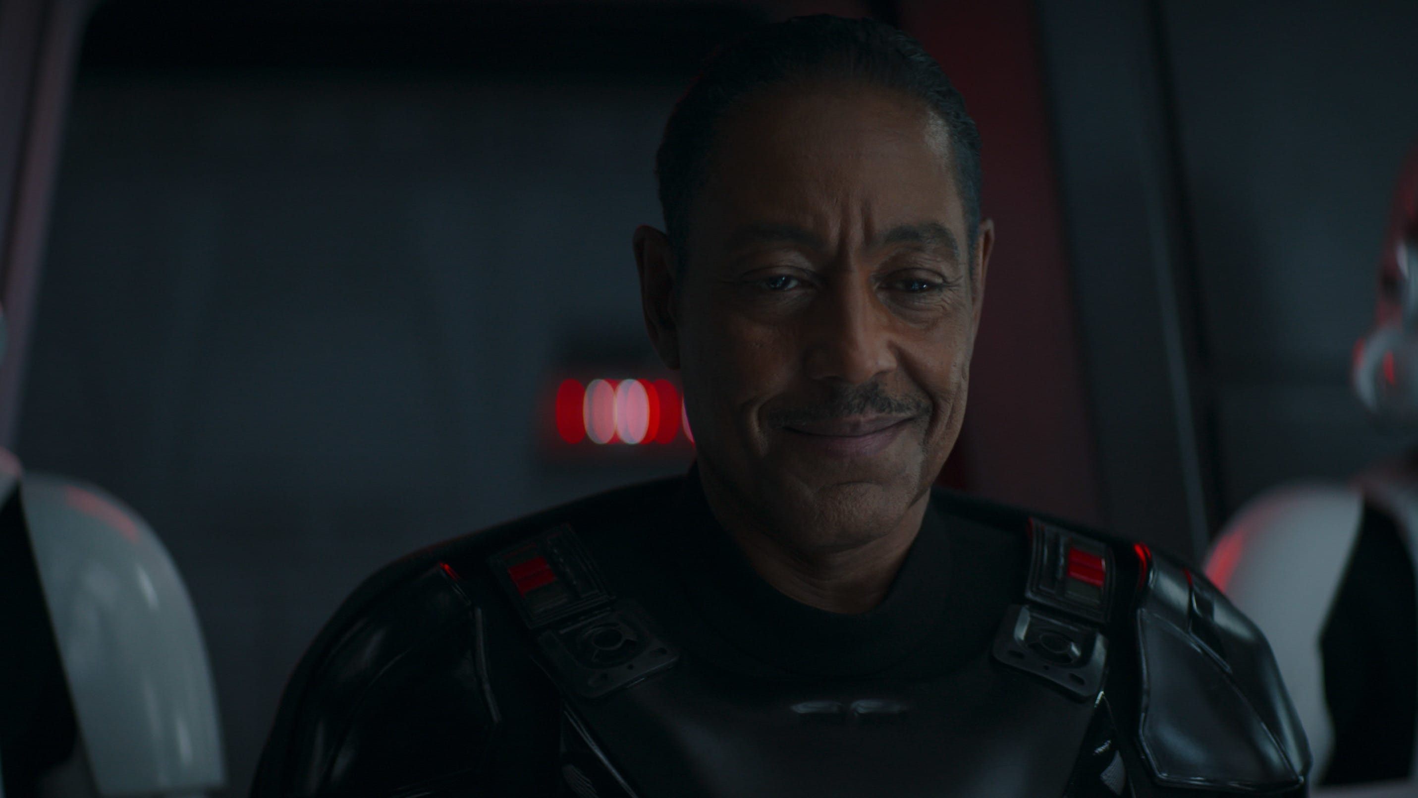 Moff Gideon (Giancarlo Esposito) in Lucasfilm's THE MANDALORIAN, season two, exclusively on Disney+. © 2020 Lucasfilm Ltd. & ™. All Rights Reserved.