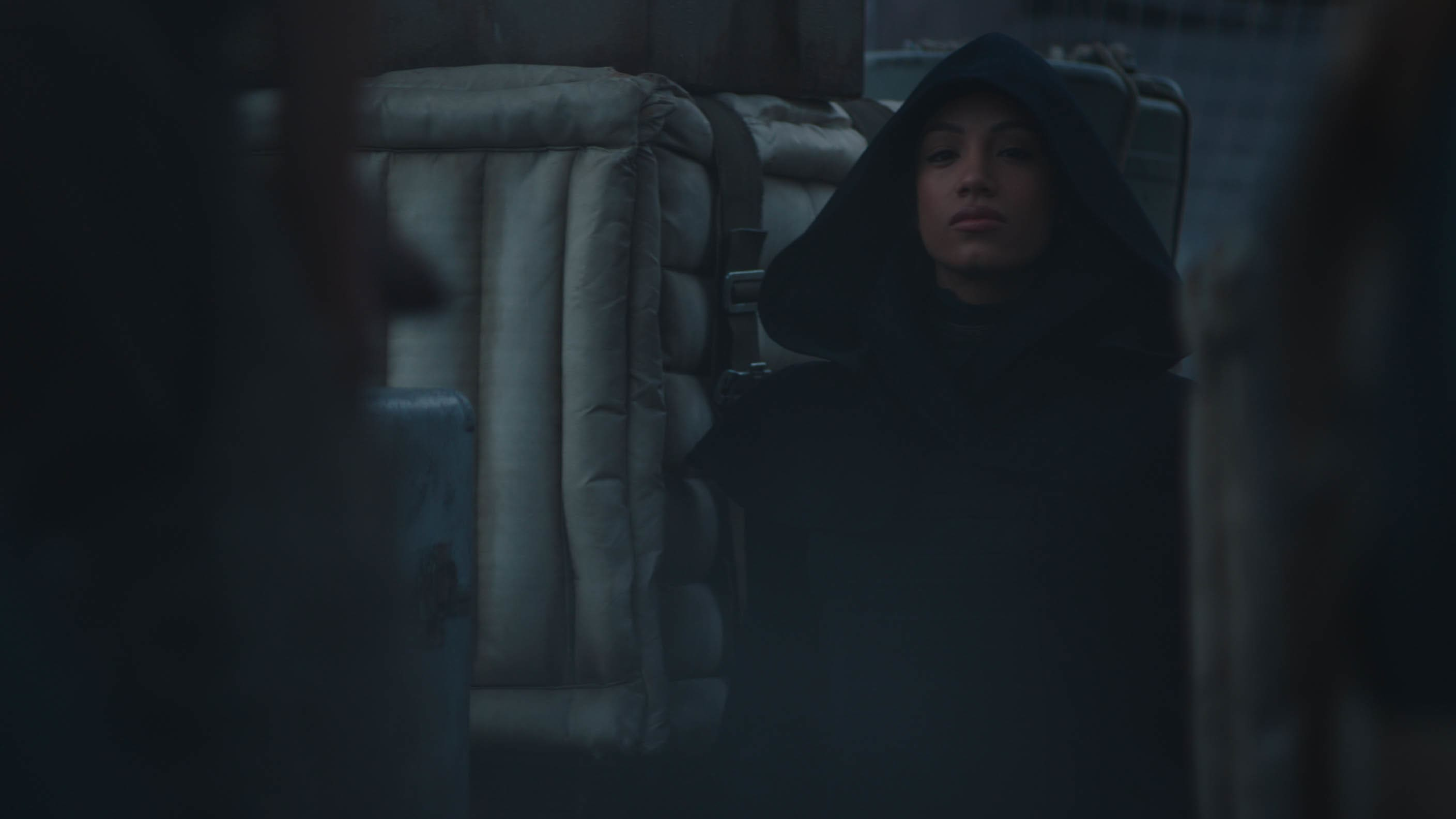 Sasha Banks in THE MANDALORIAN, season two. © 2020 Lucasfilm Ltd. & TM. All Rights Reserved.