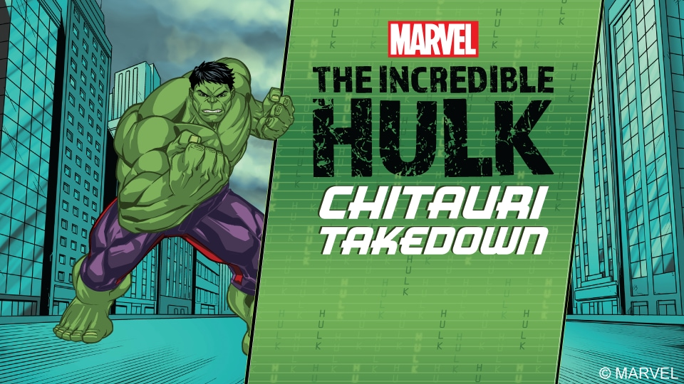 Marvel's Incredible Hulk - Chitauri Takedown