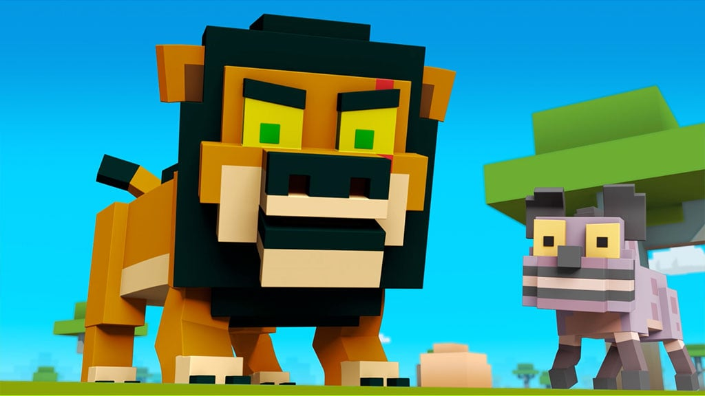 Episode 4: Hyena Havoc | Disney Crossy Road | The Animated Series | Scar and Lion King Friends