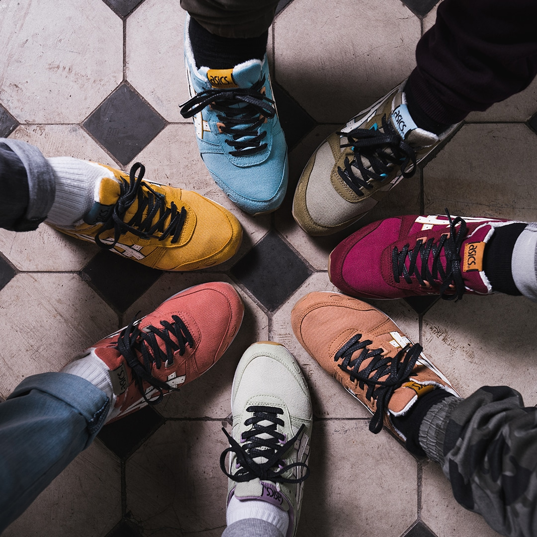 Sneakers from ASICS Snow White and the Seven Dwarfs Collection
