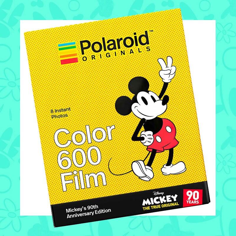 Mickey Mouse themed Polaroid camera