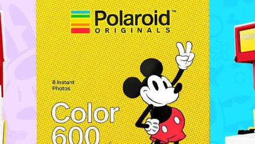 Disney and Polaroid Team Up for the Coolest Mickey Mouse Collab