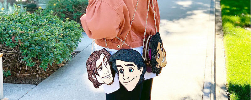 Oh My Disney Dashing Collection's Disney Princes Bags -  Prince Eric, Flynn Rider, and Aladdin