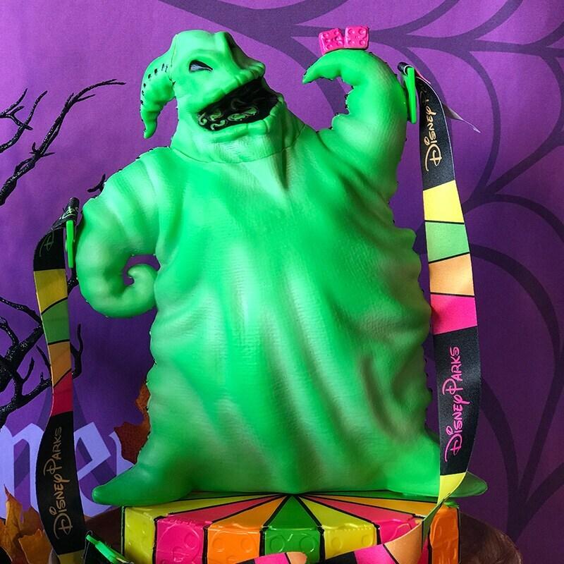 Green Oogie Boogie popcorn bucket
