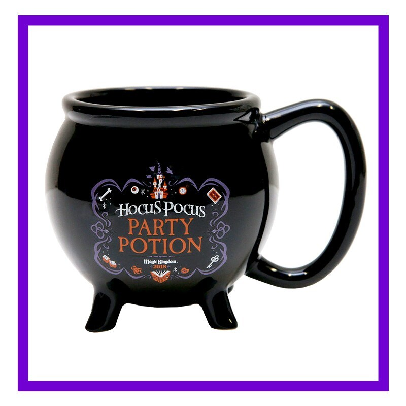 Hocus Pocus Party Potion Black Mug