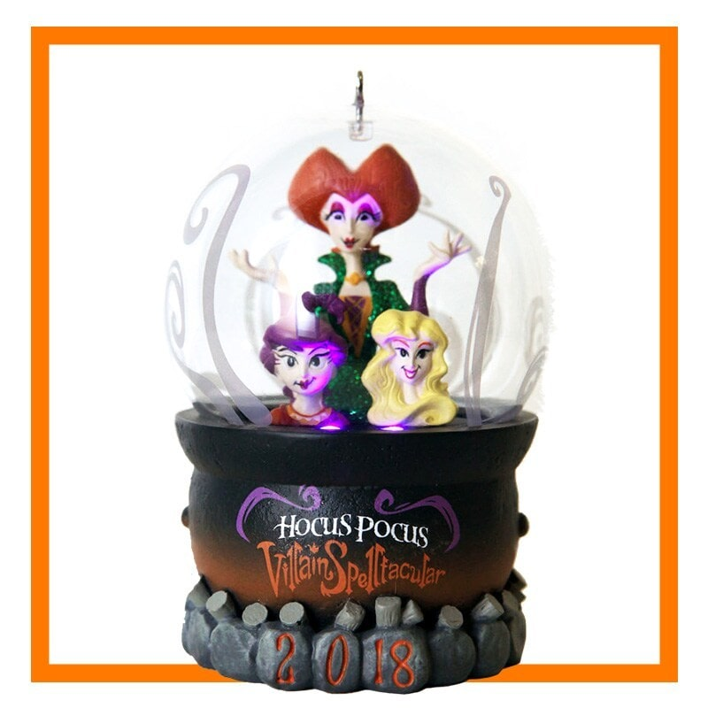 Hocus Pocus Villain Spellltacular 2018; Sanderson sisters light up ornament