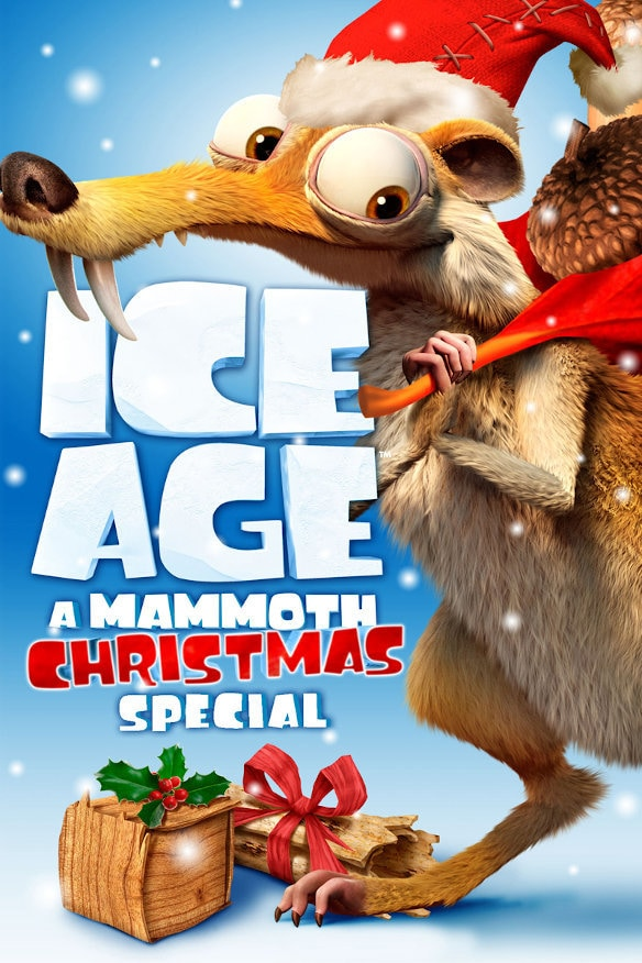 Ice Age: A Mammoth Christmas movie poster