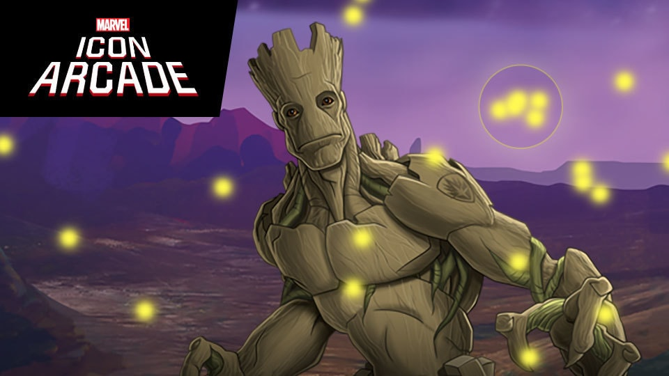 Collect Groot's Light Particles