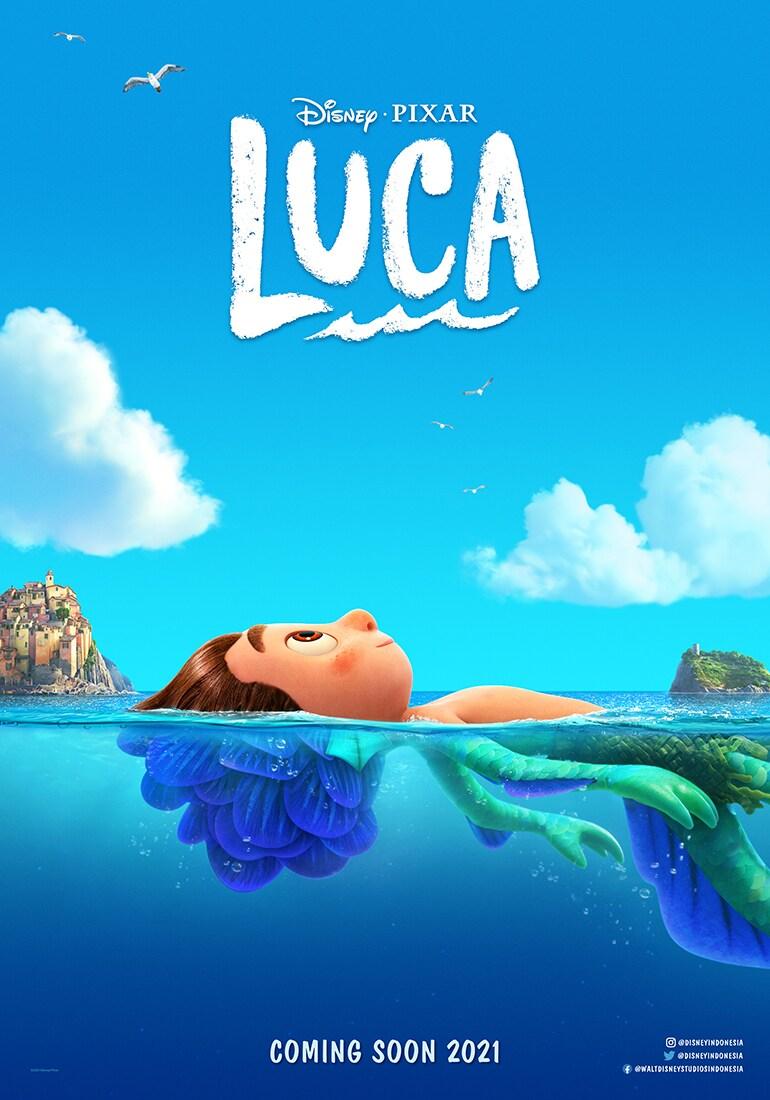 Disney•Pixar | Luca | Summer 2021