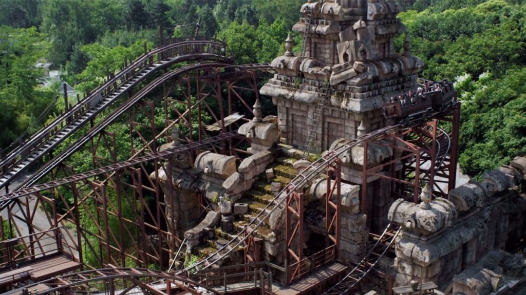Take a Virtual Ride on Indiana Jones and the Temple of Peril at Disneyland Paris