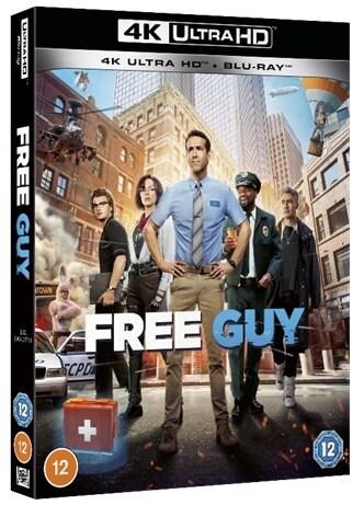 Free Guy Blu-Ray DVD