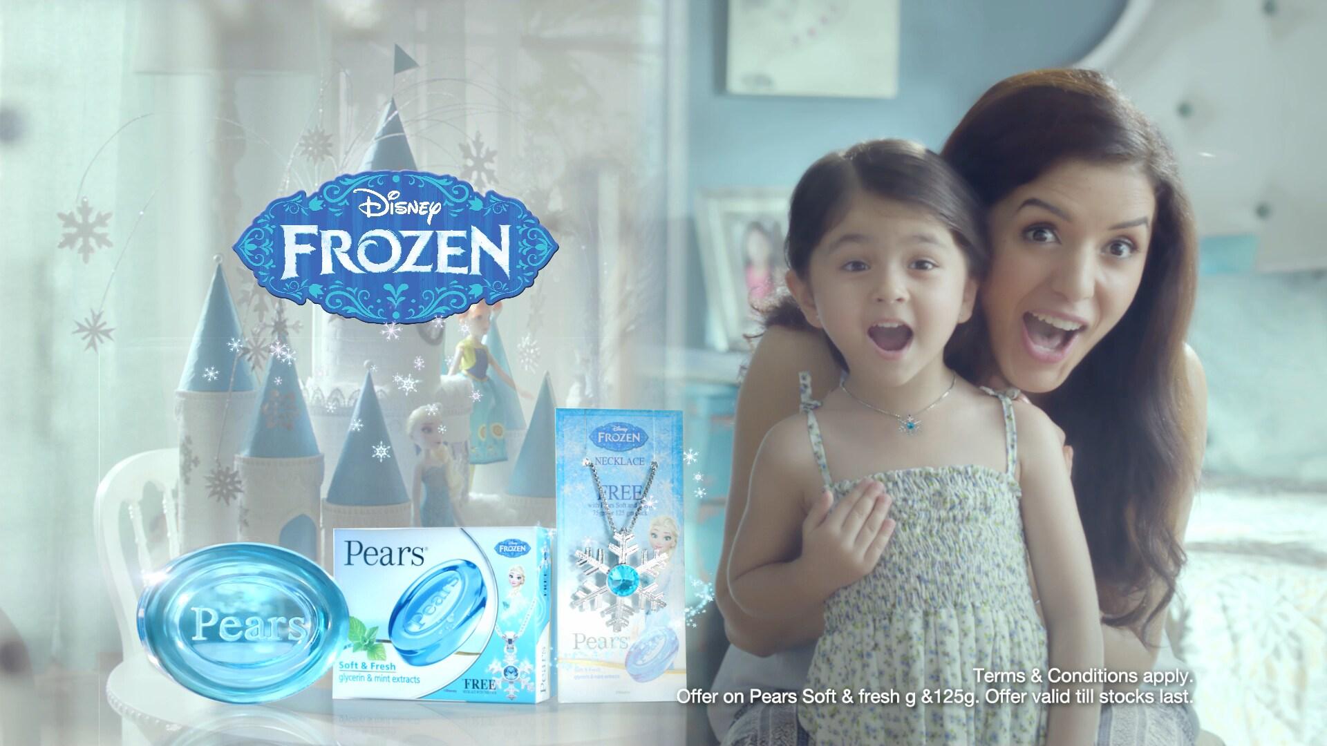 Disney Frozen x Pears IN