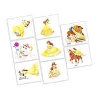 Image of Beauty and the Beast Tattoos - 2 Pack # 1