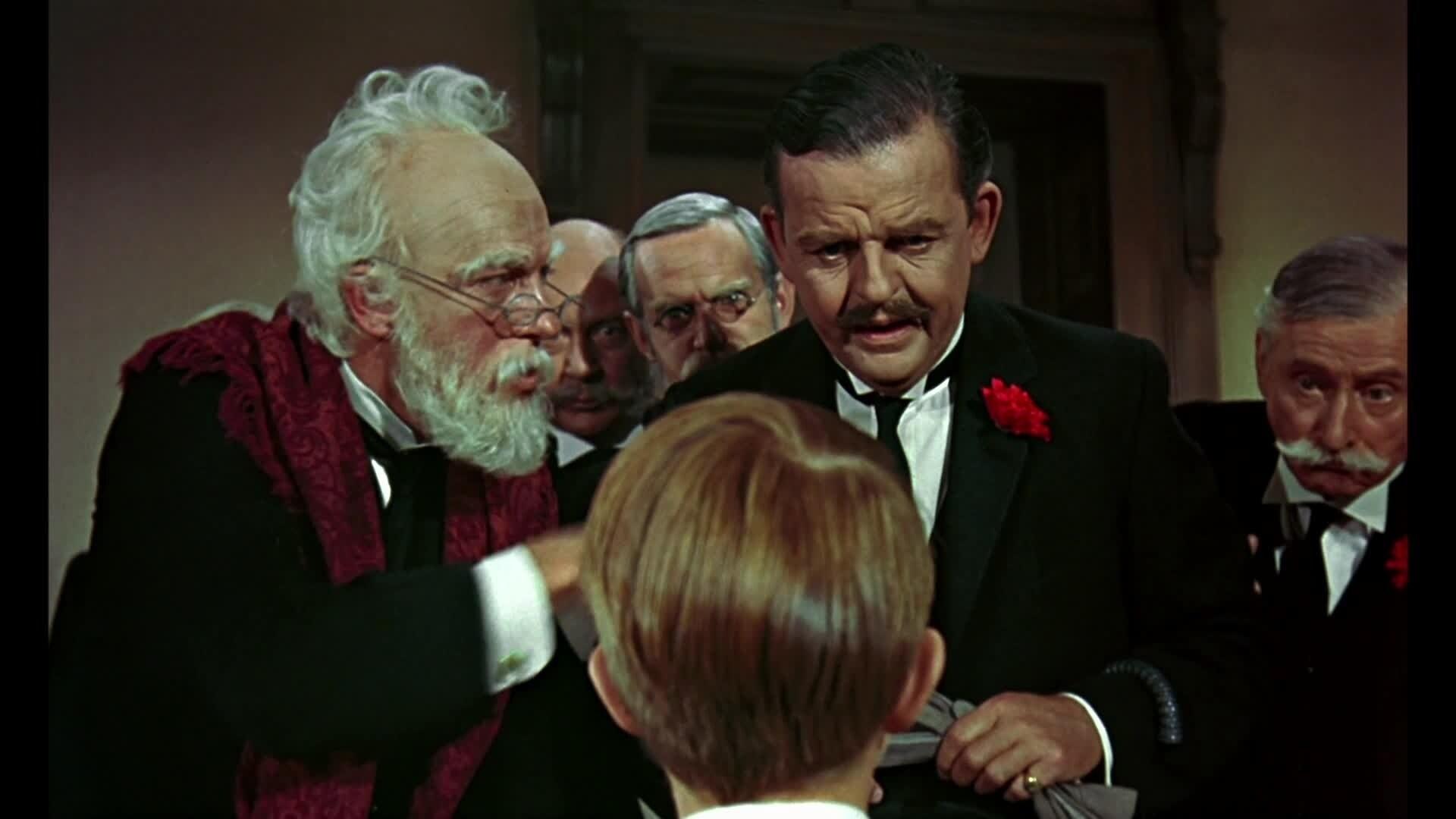 Mary Poppins - Chanson : Deux Pences (par M. Dawes Sr, M. Banks et les banquiers)