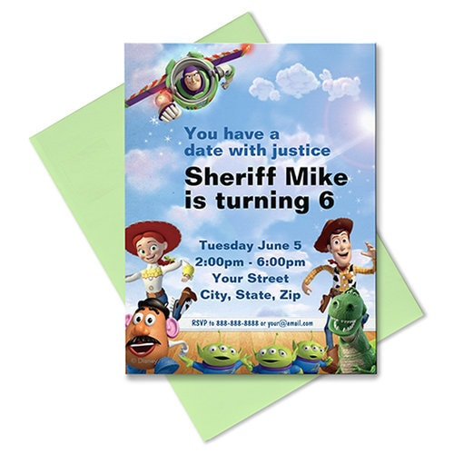 Toy Story Invitation - Customizable