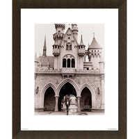 Image of Walt Disney at Sleeping Beauty Castle Giclé # 5