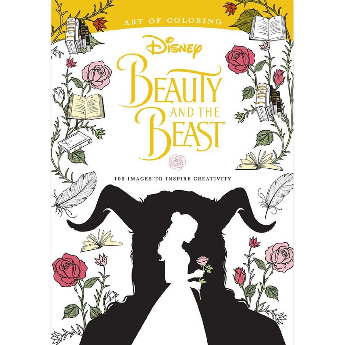 Thumbnail Image Of Beauty And The Beast Art Coloring Book
