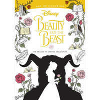 Image of Beauty and the Beast Art of Coloring Book - Live Action Film # 1