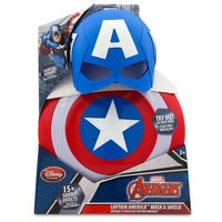 Image of Captain America Mask & Shield Set # 6