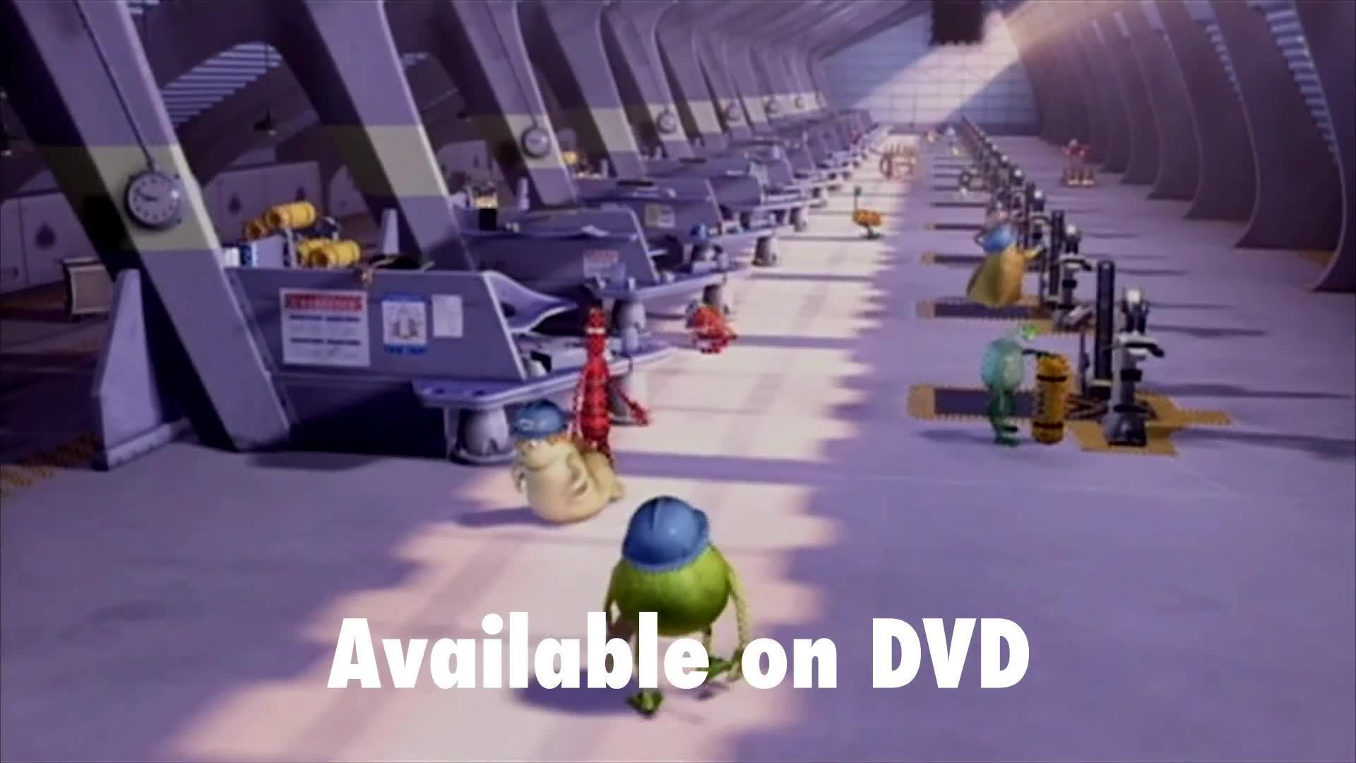 Monsters, Inc Trailer
