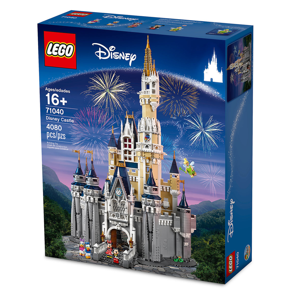 Disney Castle Playset By Lego Limited Release Shopdisney