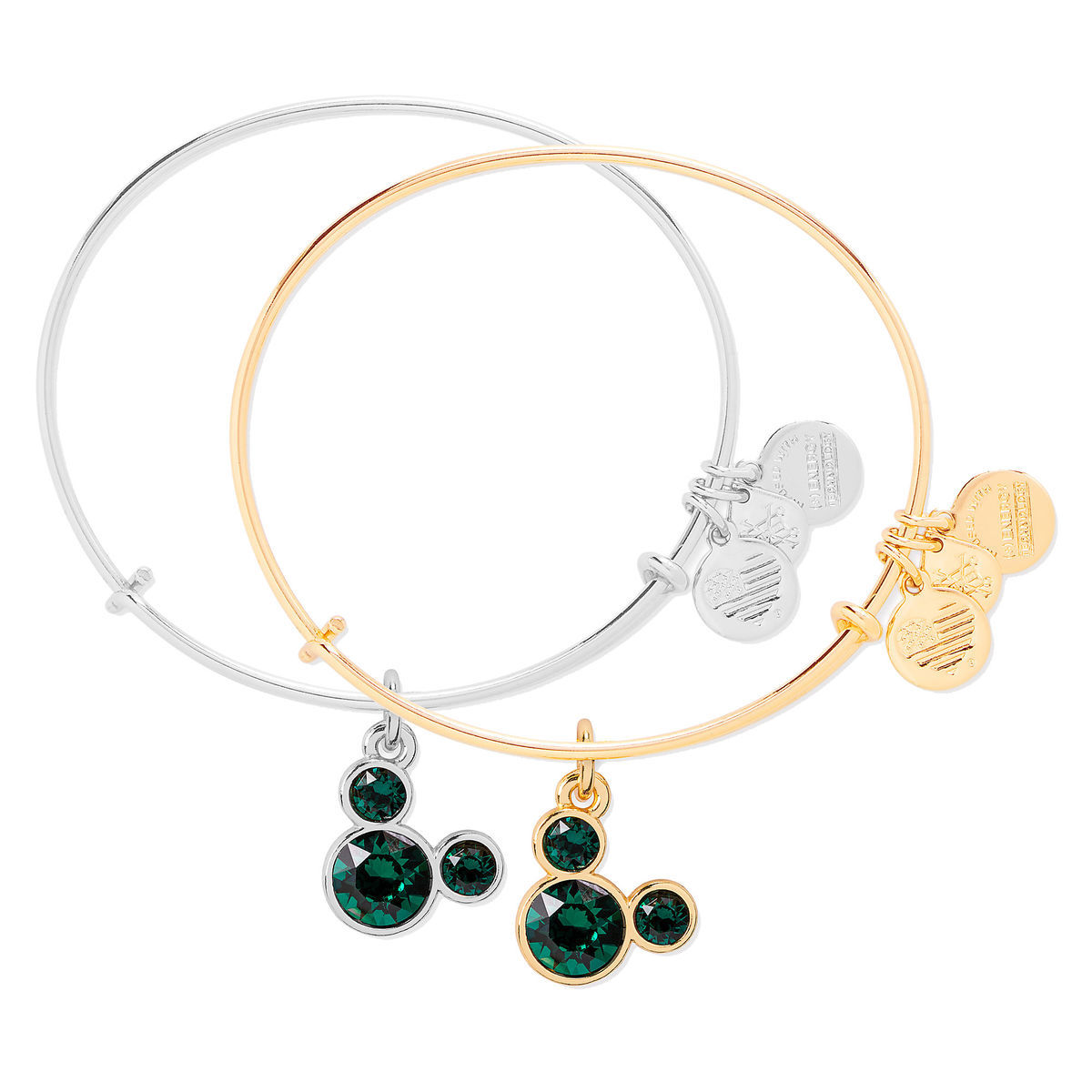 Product Image Of Mickey Mouse Birthstone Bangle By Alex And Ani May 1