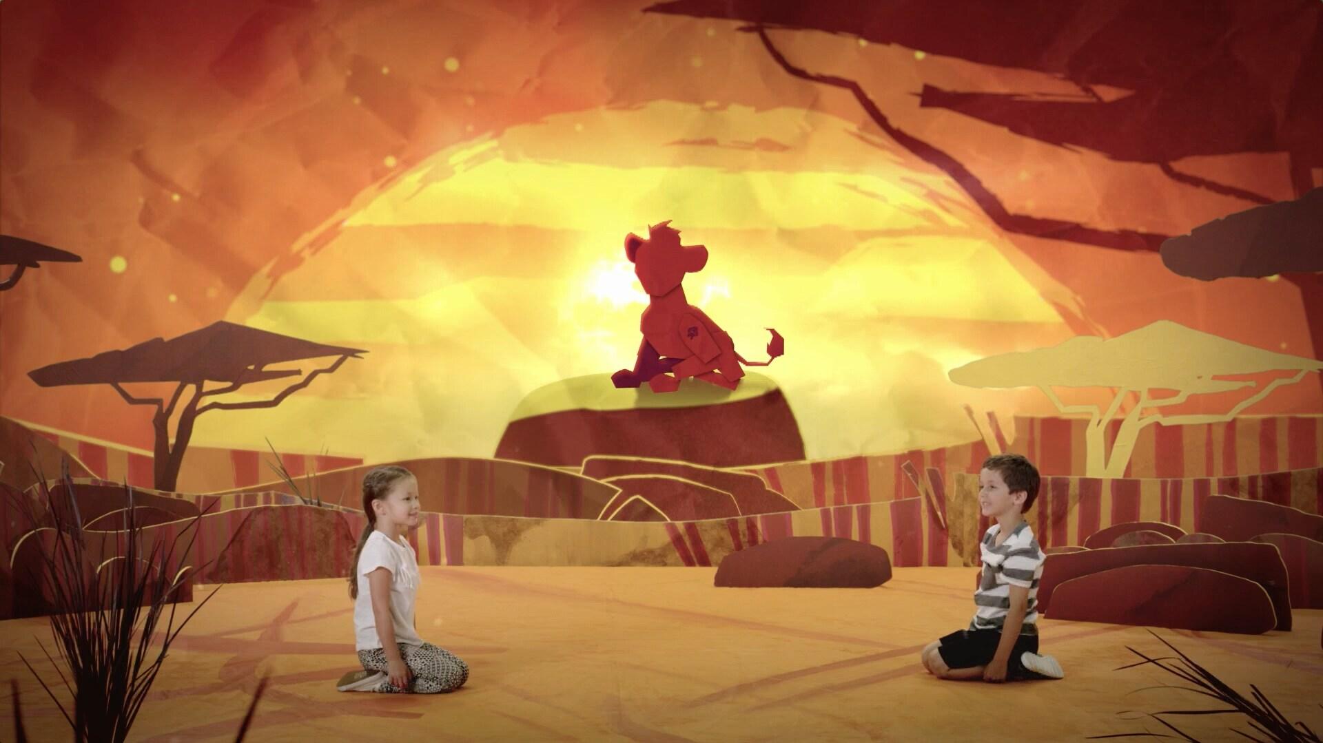 Inspírate entrenando con Kion - La Guardia del León - Compromiso Disney